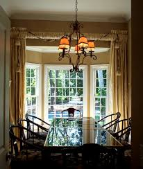 Window Treatments For Bay Windows In Dining Room Dining Room Sets - Bay window in dining room