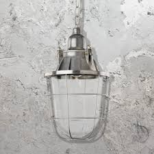 industrial aluminium pendant light