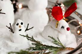 Dirt Snow And Make How Little To Empress Snowmen Of Fake