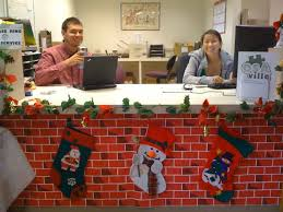 christmas office decorating. Christmas Holiday Office Ideas Theme Decoration DMA Christmas Office Decorating