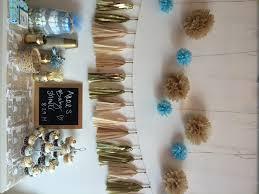 diy boys baby shower decorations