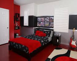 Red Bedroom For Couples Classy Design Black Red Home Decoration