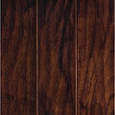 get ations mohawkpienza 5 in w prefinished hickory engineered hardwood flooring cognac hickory