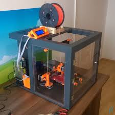 prusa i3 3d printer enclosure completed