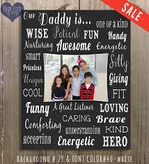 dad canvas father s day gift personalized photo collage dad birthday gift father s day gift for dad