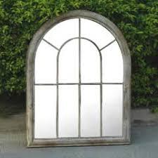 garden mirrors. Ellister Rustic Arch Garden Mirror Mirrors T