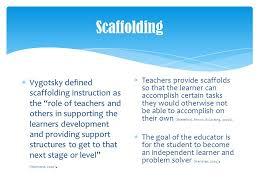 Scaffolding Definition Vygotsky Lev Vygotskys Social Development Theory Ppt Video Online