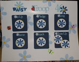 Splitcoaststampers Daisy Scout Kaper Chart