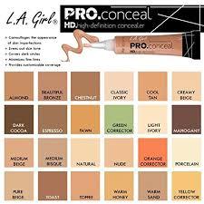 La Girl Pro Conceal Hd Concealer Pack Of 3