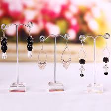 Acrylic Necklace Display Stands Enchanting 32 New Clear Acrylic Tree Jewelry Display Stand Earring Display