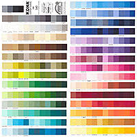 Equilter Kona Cotton Color Card