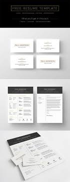 Free Clean Resume Template Creativetacos