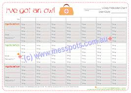 Archive Pin Free Printable Daily Medication Chart To Keep