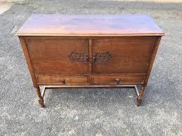 Vintage 1930s CWS Ltd Oak Sideboard For Sale in Leith Edinburgh