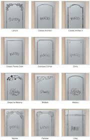 pantry doors by sans soucie art glass