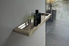 spa nickel bathroom shelf nickel