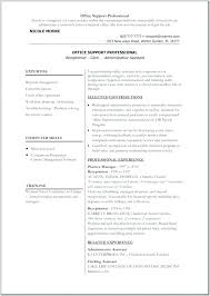 Free Resume Templates Word 2010 Inspiration Resume Templates For Office Open Office Writer Resume Template