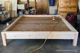 how to build a dog bed frame how to build a wooden bed frame ideas and