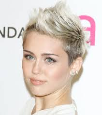 Miley Cyrus Hair Style miley cyrus oval face with short mohawk hairstyles hair 1069 by wearticles.com