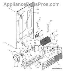 ge wr02x11426 tube drain appliancepartspros com part diagram
