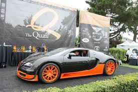 Bugatti Veyron Super Sport Black And Orange
