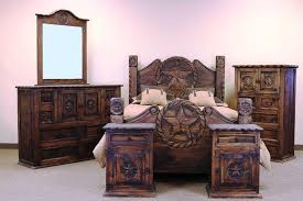 Captivating Image Of: Western Style Rustic Bedroom Furniture Sets
