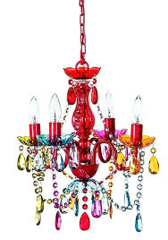 multi colored crystal chandelier multi color acrylic crystal gypsy chandelier in 3 sizes previous