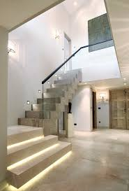 under stairs lighting. Stair Design Staircase Contemporary With Glass Railing Wood Stairs Under Lighting O