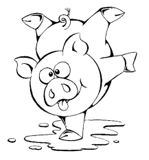 Small Picture Cute Pig Coloring Pages For Toddlers Kids Coloring Pages