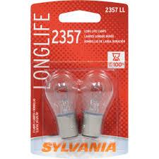 Advance Auto Parts Brake Light Bulb Sylvania 2357 Long Life Miniature Bulb Twin Pack Walmart Com
