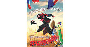 The art of the movie hardcover. Spider Man Into The Spider Verse Coloring Book 20 Exclusive Illustrations By Brilliant Books