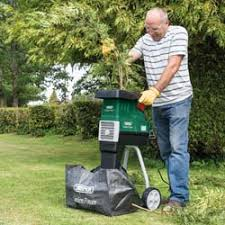 garden shredder. Quiet Garden Shredder (2500W) H