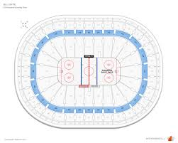 Montreal Canadiens Club Desjardins Seats At Bell Centre