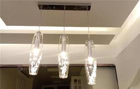 bar pendant lighting. Ceiling Bar Lights Kitchens Led Modern Glass Crystal Light Kitchen Pendant Lamp Lighting .