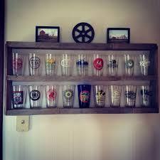 pint glass display