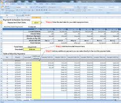 Debt Tracker Spreadsheet Debt Snowball Spreadsheet Moneysmartguides Com
