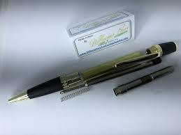 Gold Matt Black Chrome Sierra Pen Kit