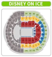 Amway Center Seating Chart Disney On Ice 72 Up To Date Agganis Arena Map
