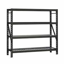 edsal 77 w x 72 h x 24 d 4 shelf metal