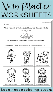 Print handwriting practice sheets freersive for adults printable worksheets. Noun Practice Worksheets Nouns Practices Worksheets Preschool Language