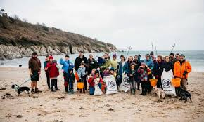 Big spring clean: UK charity's beach clear-up – a photo essay ...