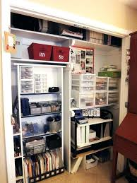 storage ideas for office. Home Office Closet Ideas Organizer Brilliant Organization Intended For Design 8 . Storage