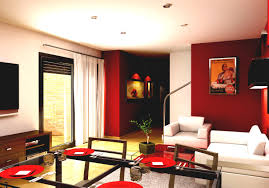 Red Wall Living Room Decorating Colors Archives Page Of House Decor Picture Modern Paint For Home