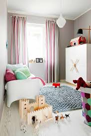 decorations chic kids playroom with rainbow rug also colorful storage units admirable small kids room