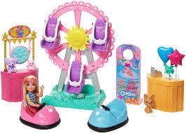 Subito a casa e in tutta sicurezza con ebay! Barbie Ghv82 Chelsea Puppe Und Jahrmarkt Spielset Mit Zubehor Madchen Spielzeug Ab 3 Jahren Amazon De Spielzeug
