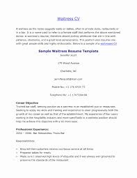 Waiter Resume Description resume waitress responsibilities Enderrealtyparkco 1
