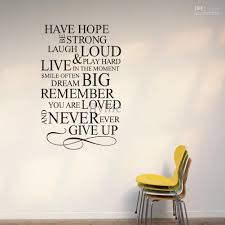 Quotes About Furniture Design Vinyl Wall Quotes In Decors