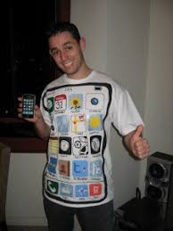iphone costume. maybe iphone costume t
