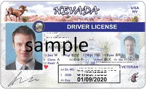 Nevada Fake Driver's License Card - Virtual Maker Id