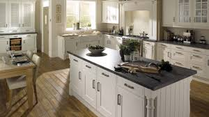 Edwardian Kitchen Edwardian Platinum White Kitchen Traditional White Kitchens By